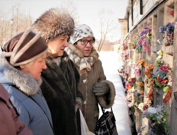 28.02.2011 Колумбарий Никольского кладбища